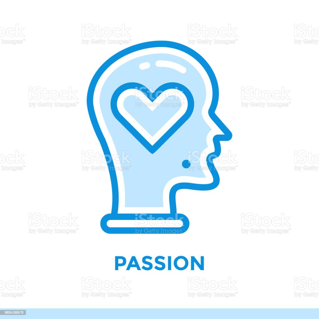 Linear passion icon for new business. Pictogram in outline style. Vector modern flat icon suitable for print, presentation and website linear passion icon for new business pictogram in outline style vector modern flat icon suitable for print presentation and website - stockowe grafiki wektorowe i więcej obrazów biznes royalty-free