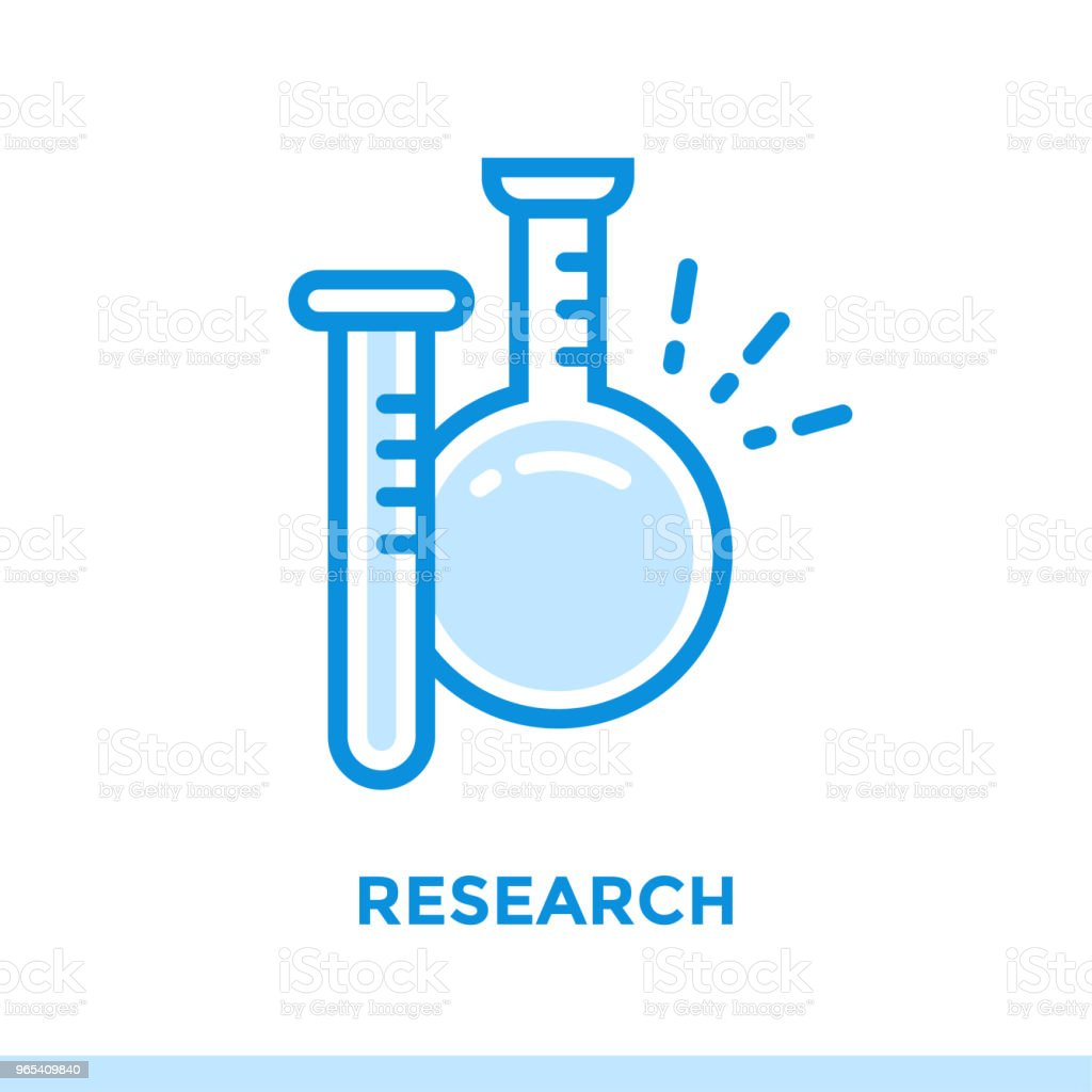 Linear research icon for new business. Pictogram in outline style. Vector modern flat icon suitable for print, presentation and website royalty-free linear research icon for new business pictogram in outline style vector modern flat icon suitable for print presentation and website stock vector art & more images of business
