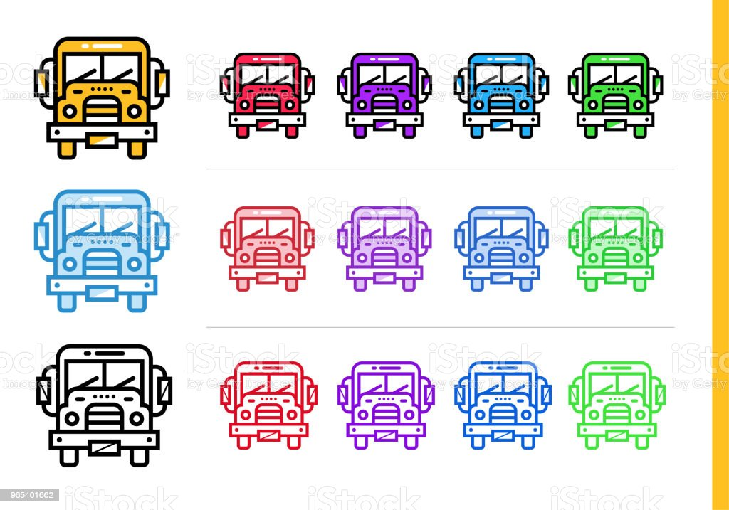 Linear SCHOOL BUS icon for education. Vector line icons suitable for info graphics, print media and interfaces linear school bus icon for education vector line icons suitable for info graphics print media and interfaces - stockowe grafiki wektorowe i więcej obrazów autobus szkolny royalty-free