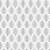 Linear seamless abstract leaves background vector illustrator