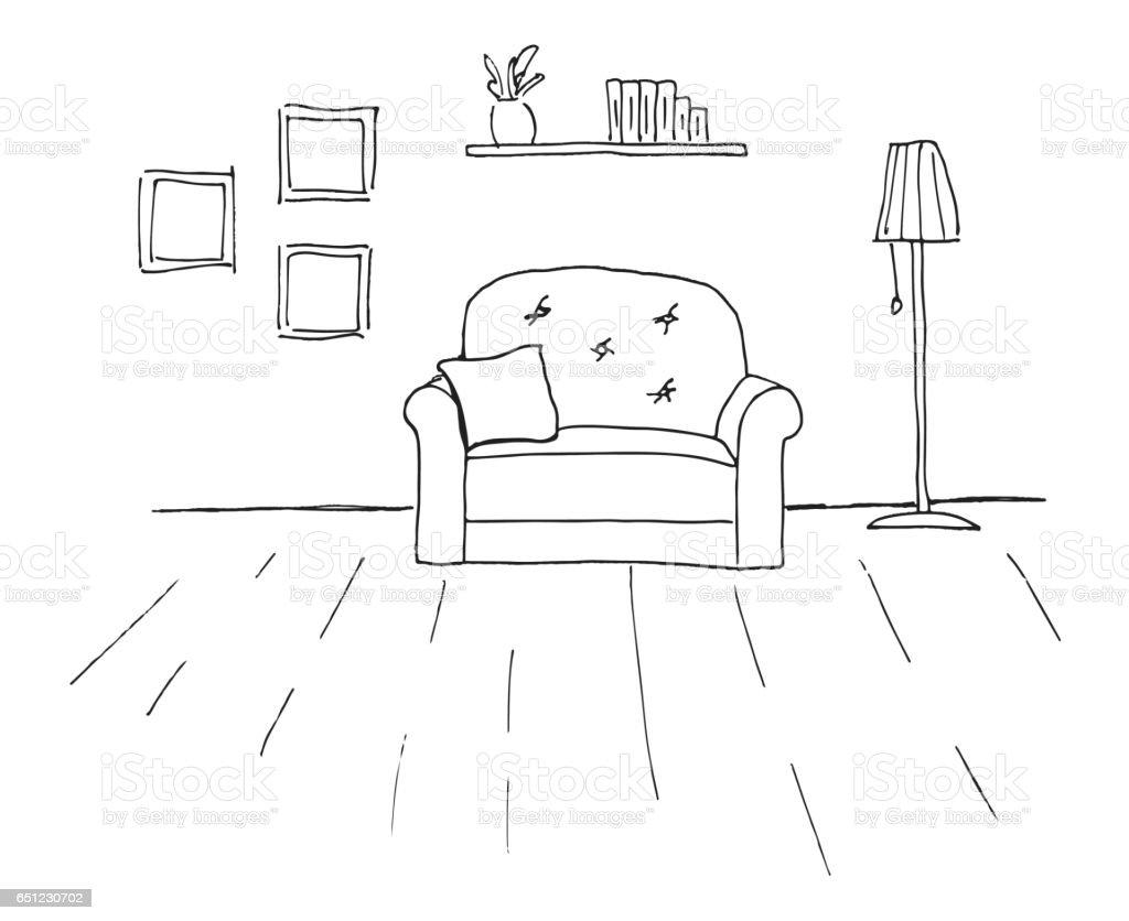 Dibujos colorear habitaciones casa ideas creativas sobre for Cuarto para colorear