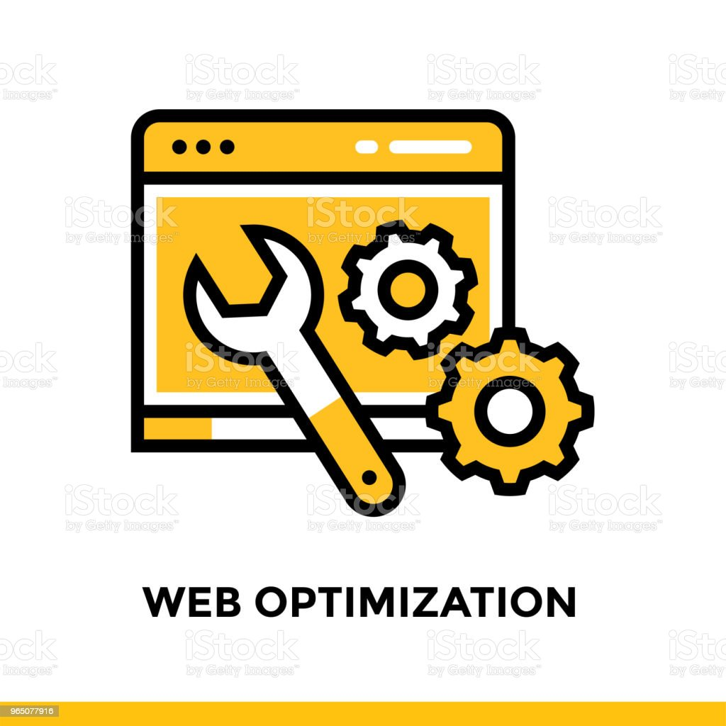 Linear web optimization icon for startup business. Pictogram in outline style. Vector flat line icon suitable for mobile apps, websites and presentation linear web optimization icon for startup business pictogram in outline style vector flat line icon suitable for mobile apps websites and presentation - stockowe grafiki wektorowe i więcej obrazów bez ludzi royalty-free