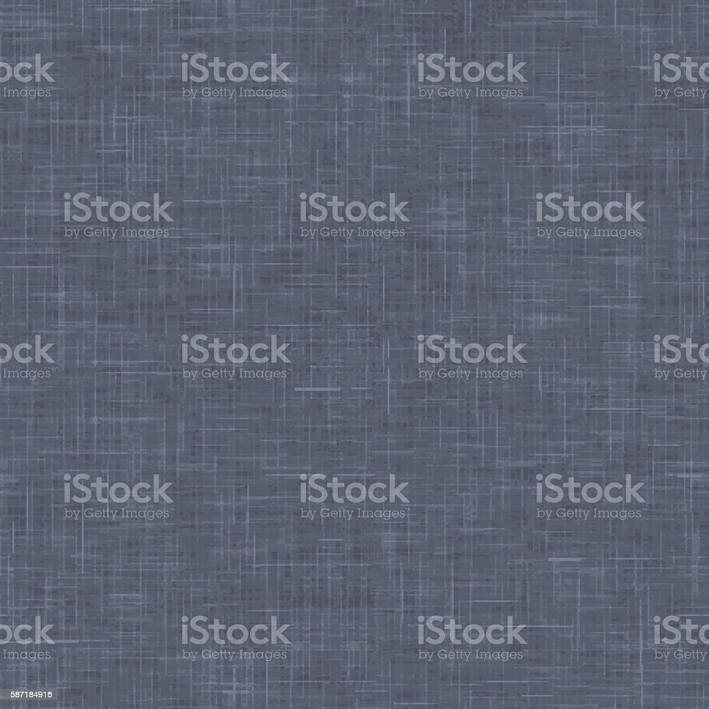 Linen texture with realistic linear effect vector art illustration