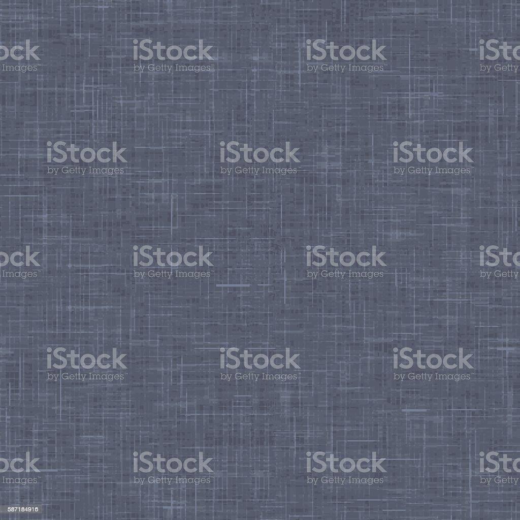 Linen texture with realistic linear effect – Vektorgrafik