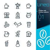 Lineo - Coffee line icons