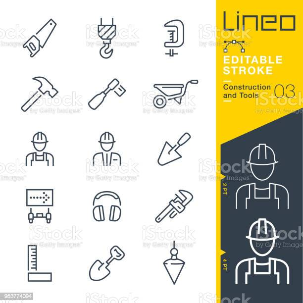 Lineo editable stroke construction and tools line icons vector id953774094?b=1&k=6&m=953774094&s=612x612&h= lkzuzbqcnh7f xdrzskkwyraha4acnctngzul1ixlm=