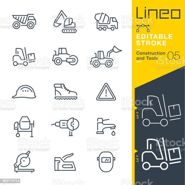 Lineo editable stroke construction and tools line icons vector id953774114?b=1&k=6&m=953774114&s=612x612&h=bqedlwgrcpjllz6ght oicwc9chrdlqwa0tl3pytz9a=