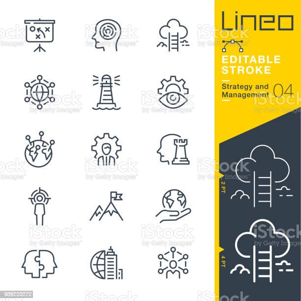 Lineo editable stroke strategy and management outline icons vector id939220272?b=1&k=6&m=939220272&s=612x612&h=mihqrnerwd 0f4qfbxfmra pmmuckqyudrskckfglbe=