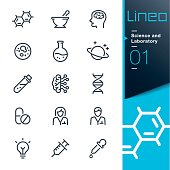 Lineo - Science and Laboratory line icons