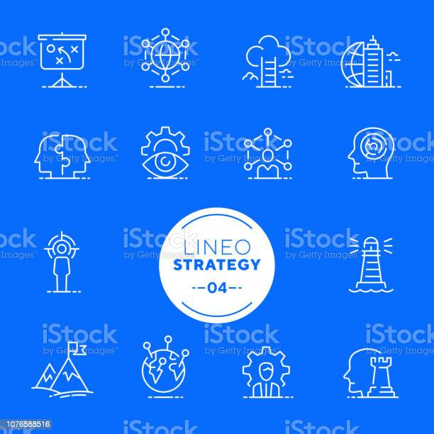 Lineo white strategy and management line icons vector id1076588516?b=1&k=6&m=1076588516&s=612x612&h=o7h2akb02 m ehc dzxqgizadijzs3pprgss3ivzspw=