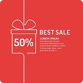 Liner sale banner