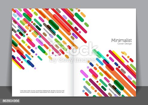 Lines cover design