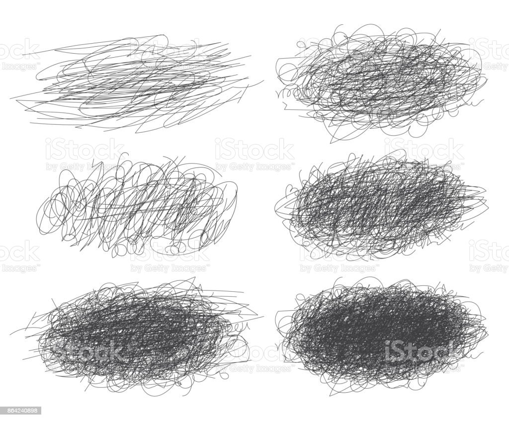 Lines of hand drawn textures, scribbles for your design royalty-free lines of hand drawn textures scribbles for your design stock vector art & more images of abstract
