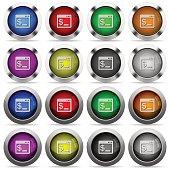 Linux terminal button set
