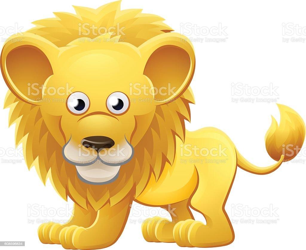lion animal cartoon character のイラスト素材 608596834 istock