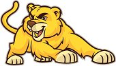 This lion cub is great for any school mascot related design.