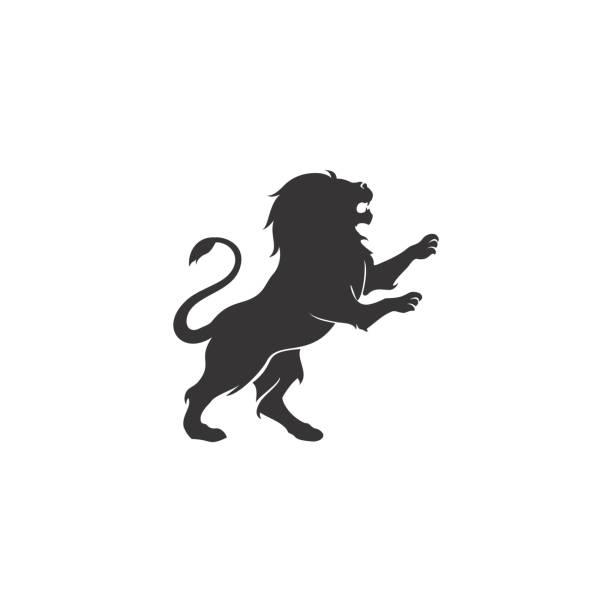 Lion design inspiration image description lion stock illustrations