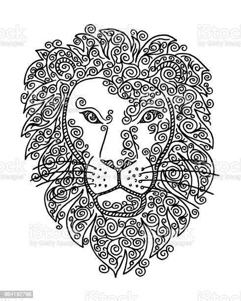Lion head doodle swirl drawing vector id864192796?b=1&k=6&m=864192796&s=612x612&h= u9g72s my uul 1eq6hev zst6oykjtkbqm2rlyq28=