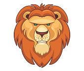istock lion head mascot 1278937822