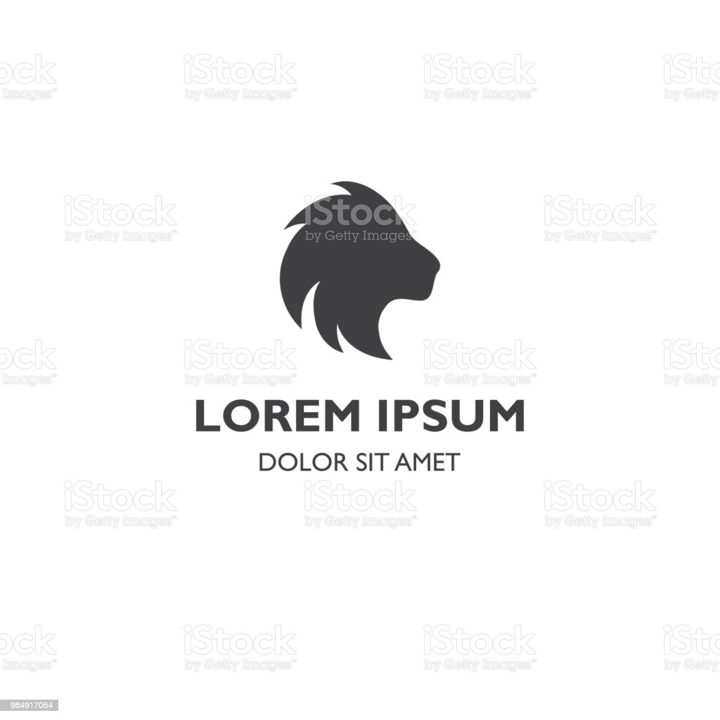 Lion head silhouette icon illustration royalty-free lion head silhouette icon illustration stock vector art & more images of africa