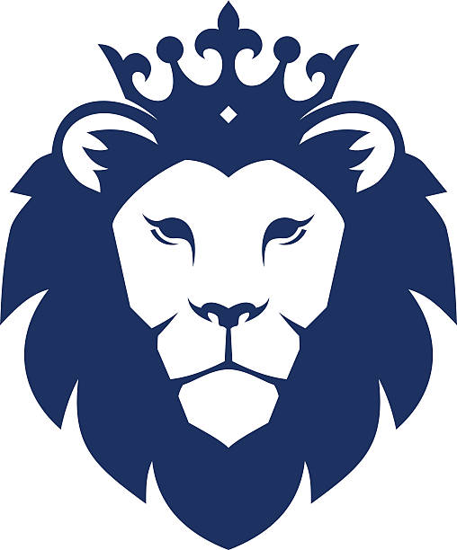 Royalty Free Lion Face Clip Art, Vector Images ...