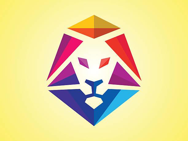 Cabeza de león  - ilustración de arte vectorial
