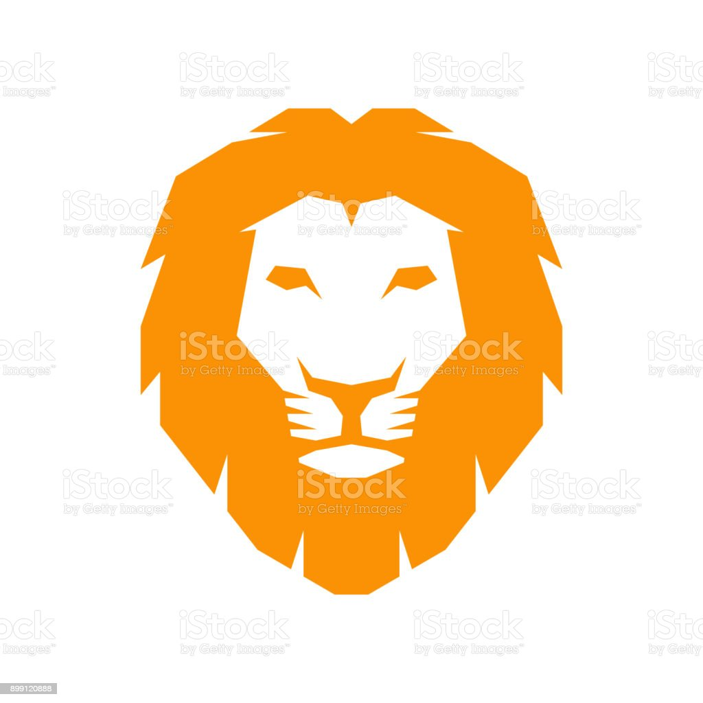 Tête de lion - Illustration vectorielle