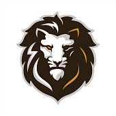 Lion Head , Lion Roar Icon