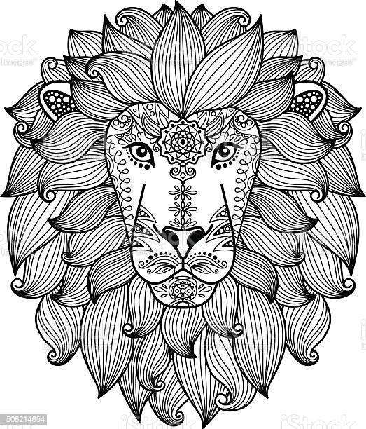 Lion head with ethnic floral pattern vector id508214654?b=1&k=6&m=508214654&s=612x612&h=flmv2ltjizboa mpp19pf208gsk bmcb9fbavubftly=