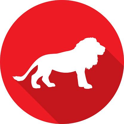 Lion Icon Silhouette 2