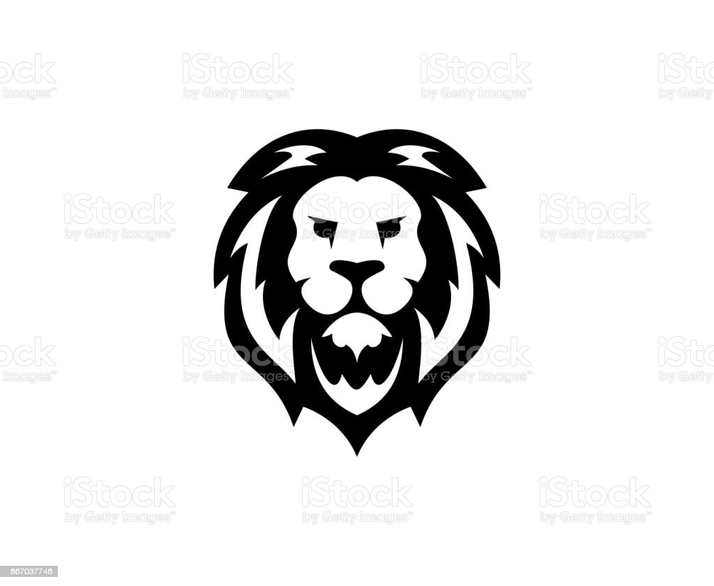 Icône de Lion - Illustration vectorielle