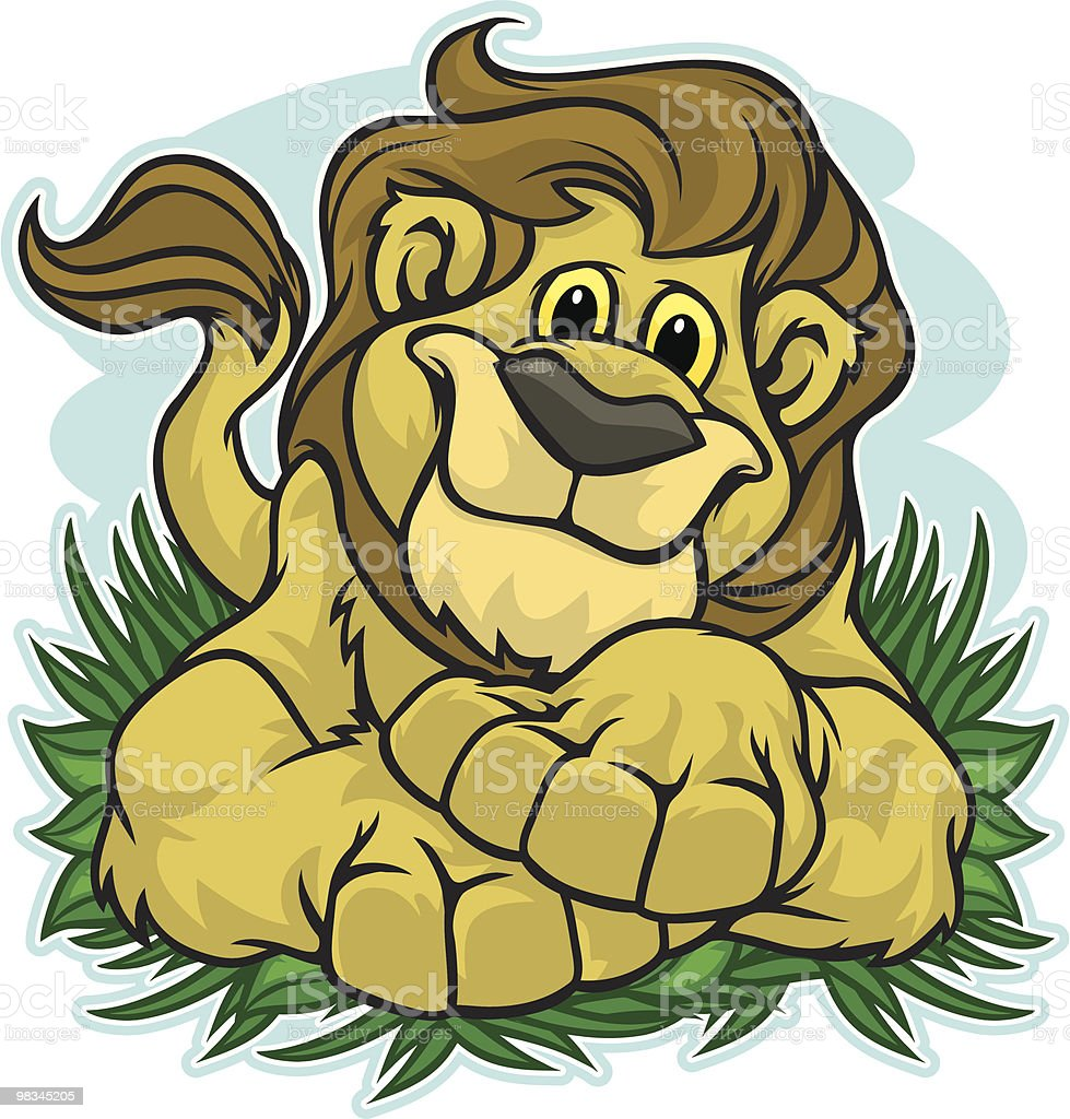 Lion Kid Cub royalty-free lion kid cub stock vector art & more images of animal