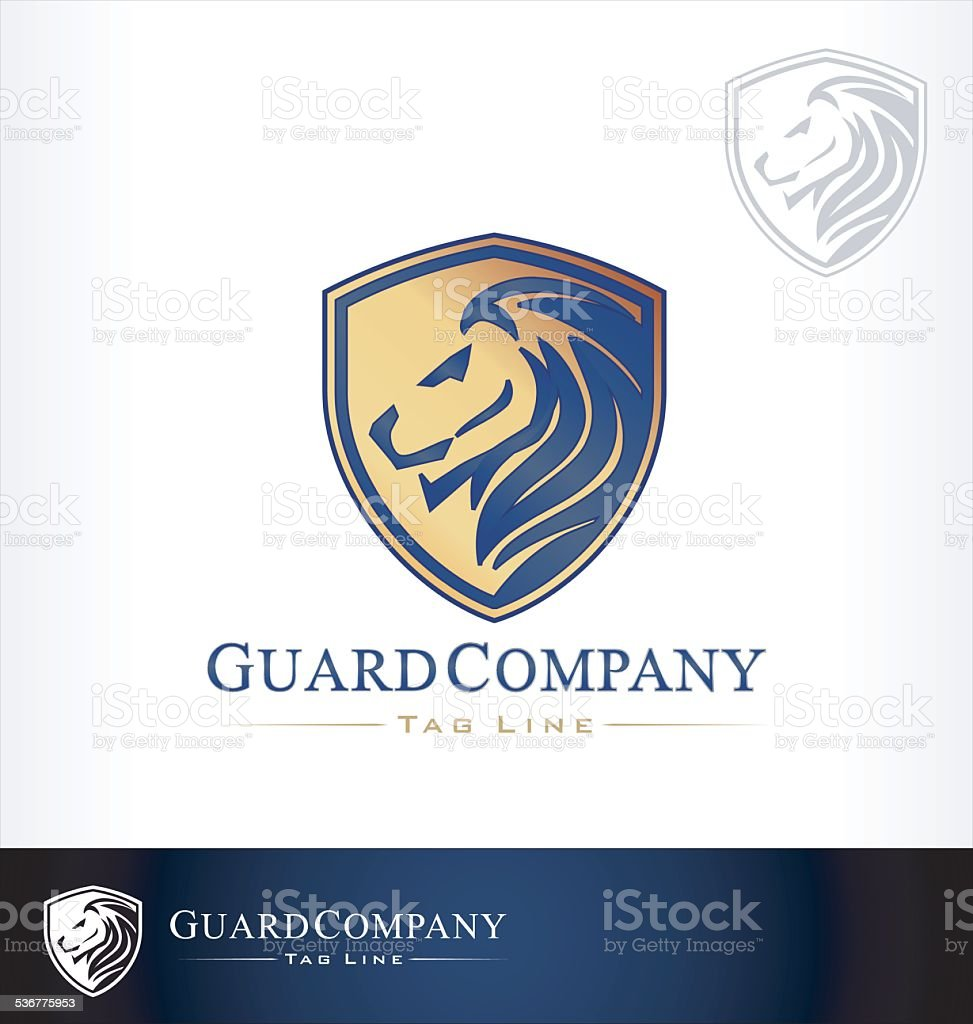 lion logo vector vector art illustration