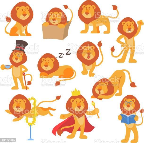 Lion mascot vector pose happy cartoon cute wild character safari cat vector id854494180?b=1&k=6&m=854494180&s=612x612&h=9ngwwisbmrkrhysk80qn7kxhty1ky380tzeqlwcwtpa=