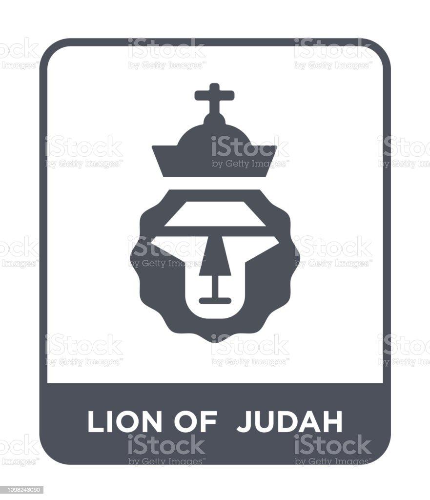 Lion Of Judah Icon Vector On White Background Lion Of Judah Trendy