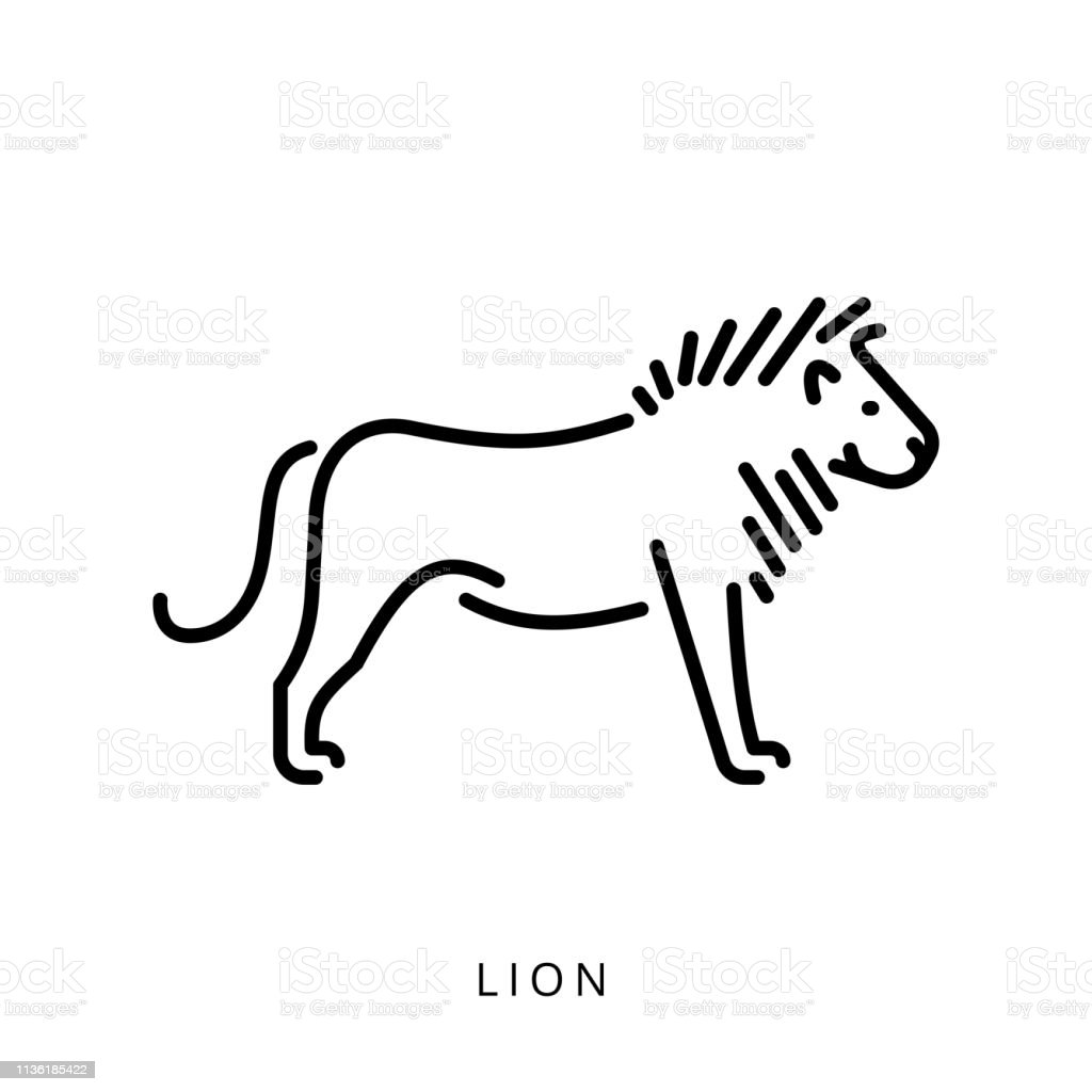 Lion Outline Logo Vector Silhouette Minimalistic Image Stock Illustration Download Image Now Istock Frequent special offers and discounts up to 70% off for all products! lion outline logo vector silhouette minimalistic image stock illustration download image now istock