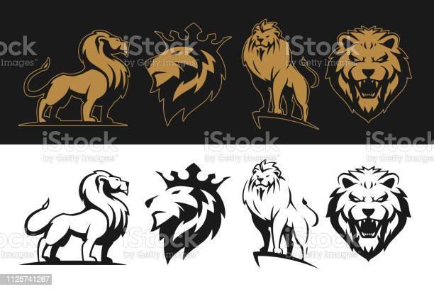 Lion set vector id1125741267?b=1&k=6&m=1125741267&s=612x612&h=gvgkdafwsgh n4zev7y1bdcble0d0rme2z w 6hyaro=