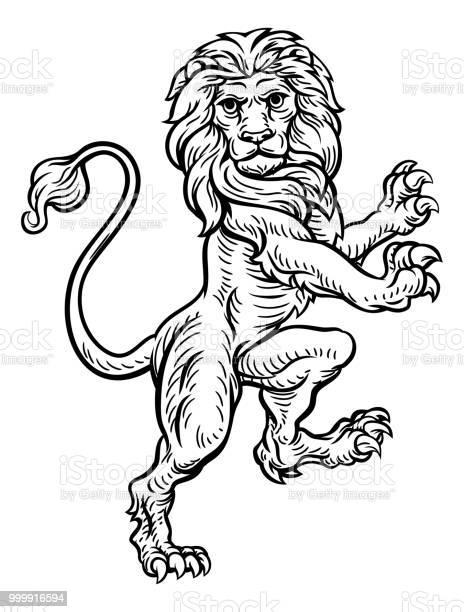Lion standing rampant on hind legs vector id999916594?b=1&k=6&m=999916594&s=612x612&h=pzsmbzispuupjd  c6deqxu8y ximkshejzda9keplk=