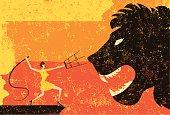 istock lion tamer 148441550