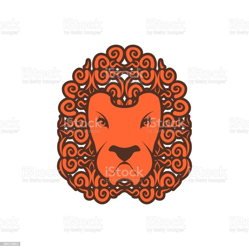 Tatouage De Lion Ornement De Criniere Leo Le Tatouage Animal Sauvage Vecteurs Libres De Droits Et Plus D Images Vectorielles De Abstrait Istock