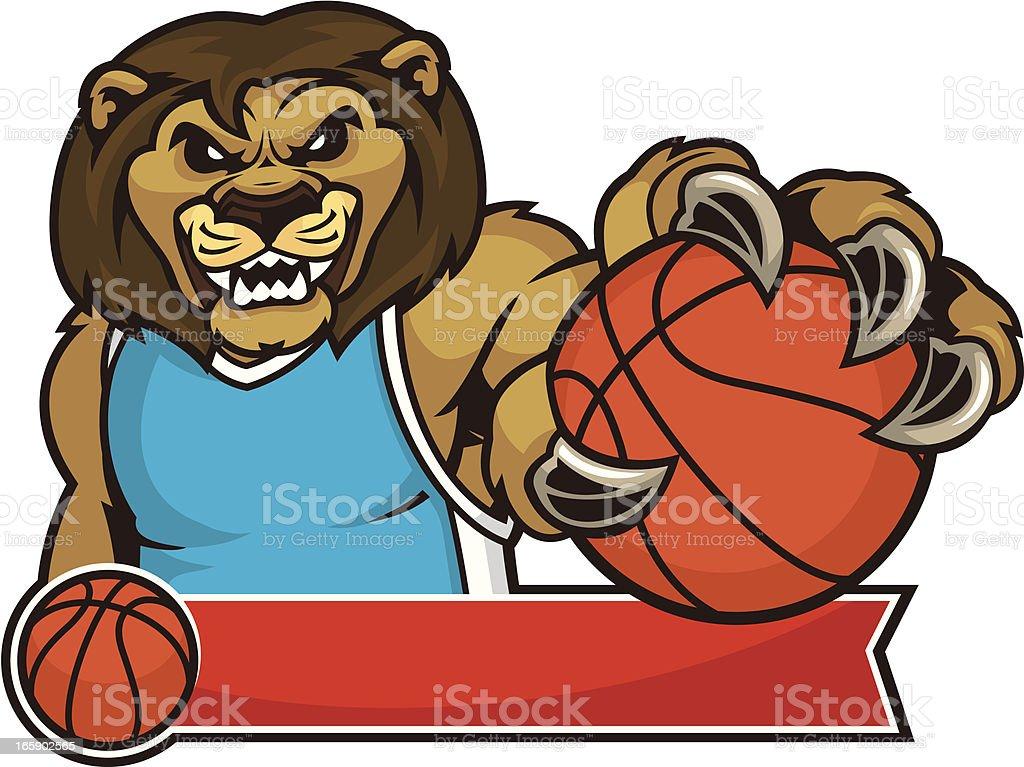Lion Tear design vector art illustration