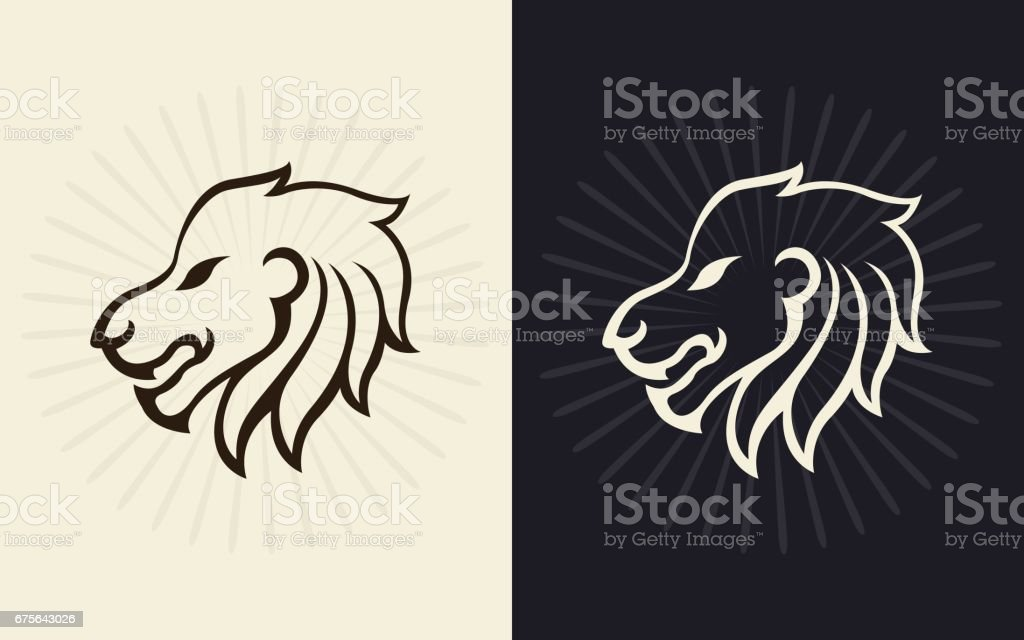 Lion vector icon design royalty-free lion vector icon design stock vector art & more images of animal