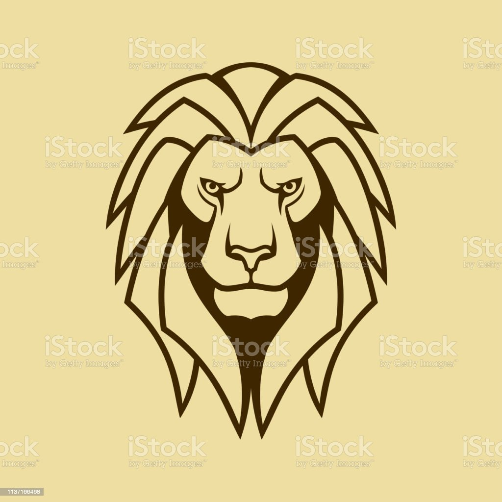 Lion Vector Icon Lion Head With Mane Outline Silhouette Stock Illustration Download Image Now Istock With its powerful and strong personality, the lion is known to be the king of the jungle. lion vector icon lion head with mane outline silhouette stock illustration download image now istock