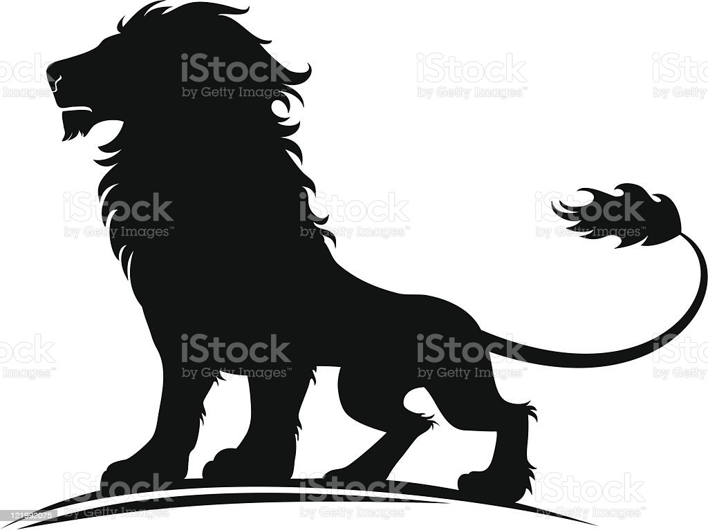 Lion vector art illustration