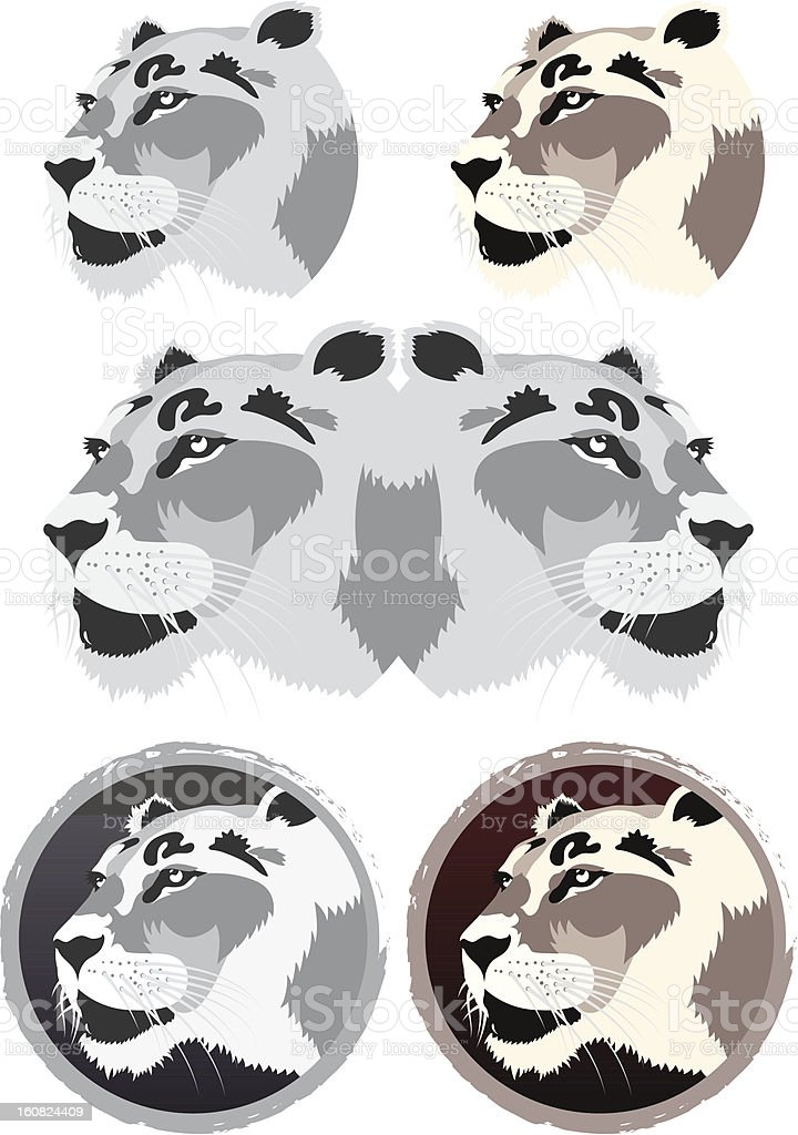 Lion royalty-free stock vector art