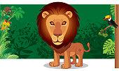 Vector lion