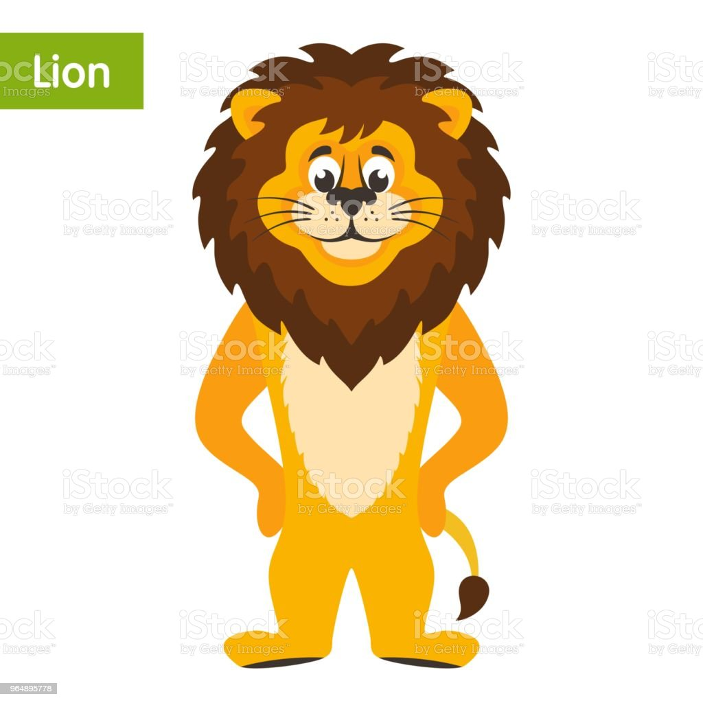 Lion. royalty-free lion stock vector art & more images of africa