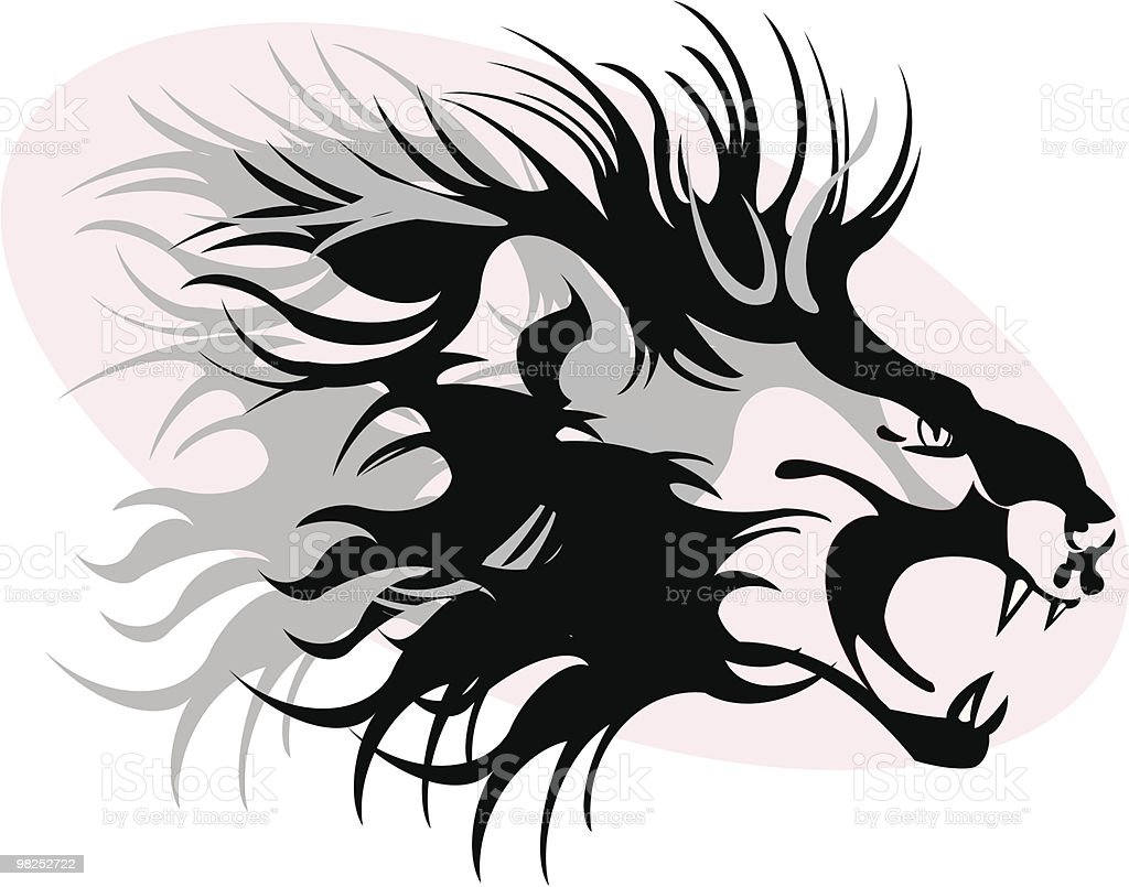 lion royalty-free lion stock vector art & more images of africa