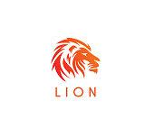 Lion - vector illustration