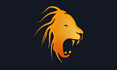 istock Lion vector stock illustration 1302924150